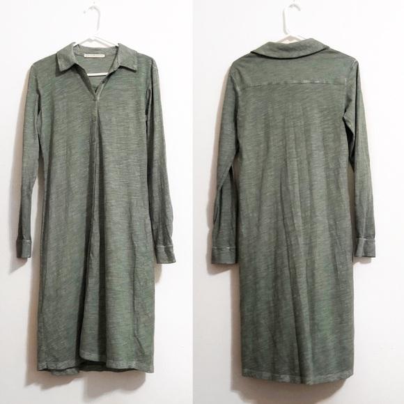 Peruvian Connection Dresses & Skirts - Peruvian Connection | Long Sleeve Button Dress